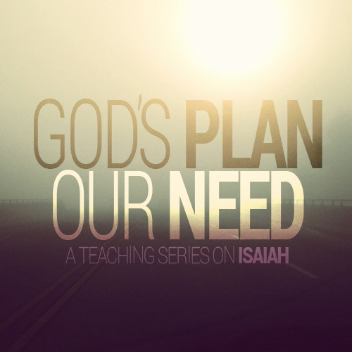 God's Plan; Our Need
